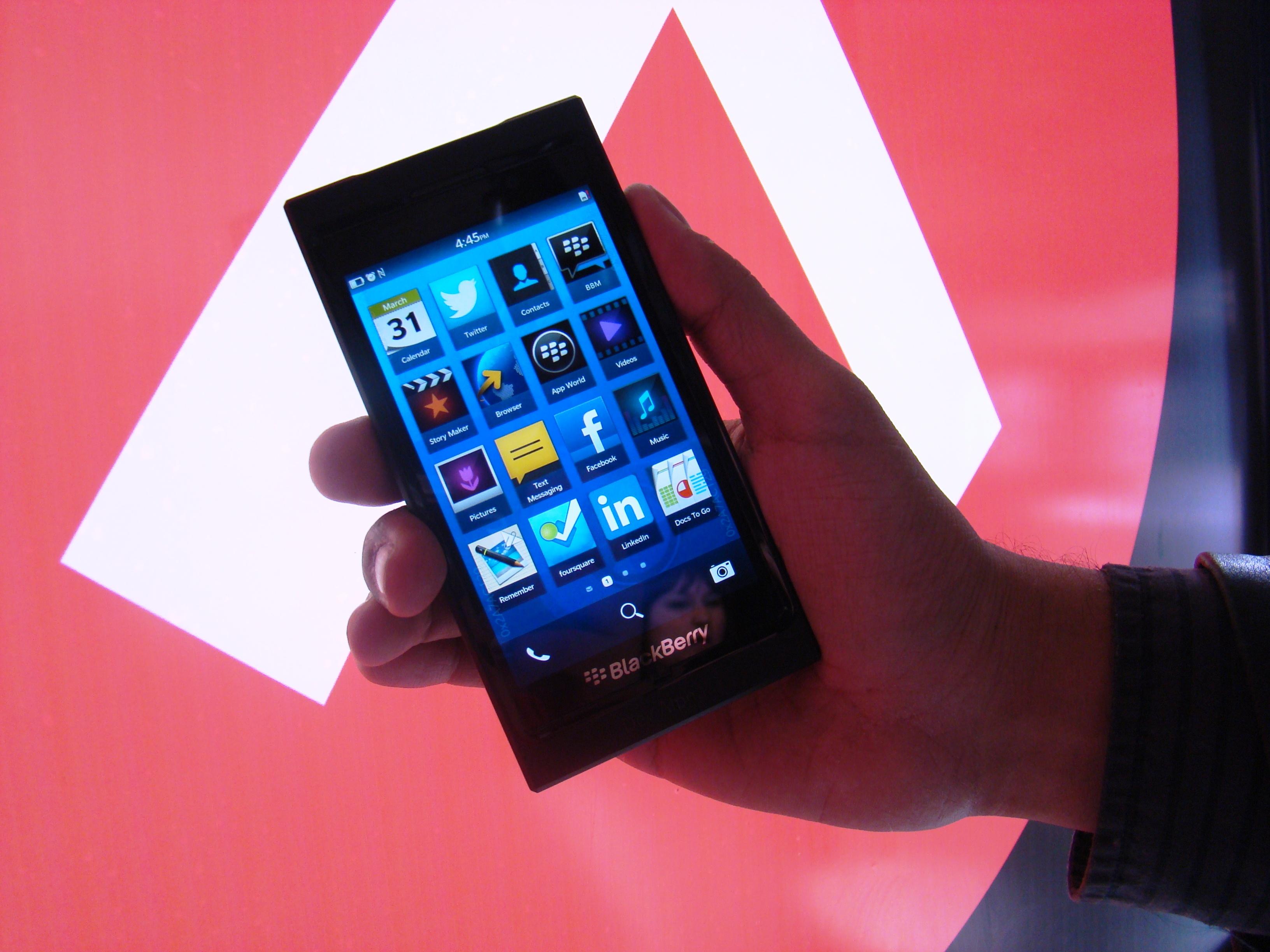 BlackBerry 10 20