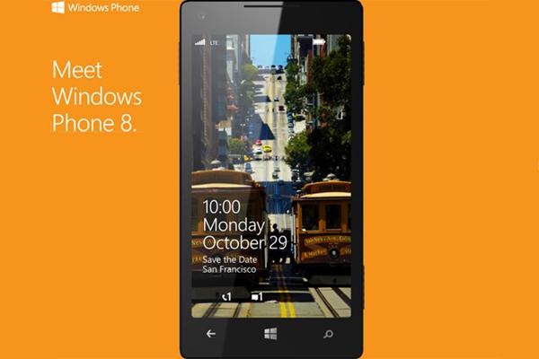Evento-Windows Phone 8