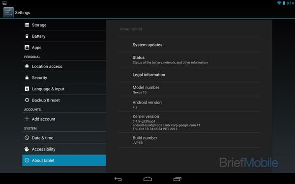 Nexus 10-6