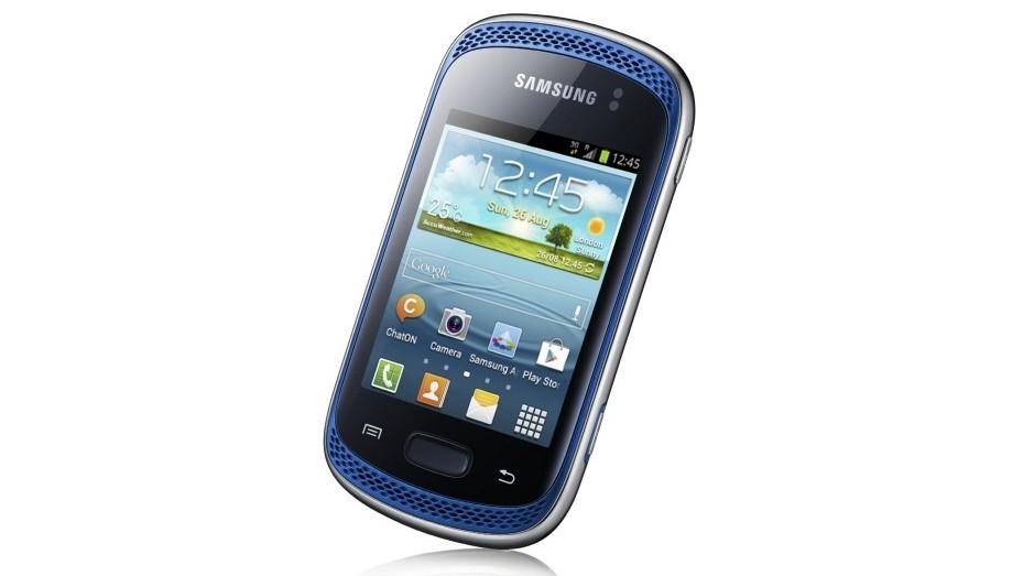 Samsung Galaxy Music de lado