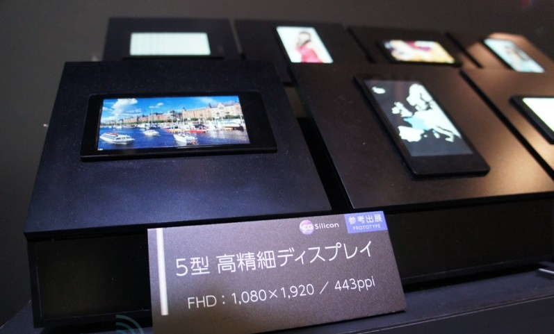 Sharp s new 443 ppi 5 inch
