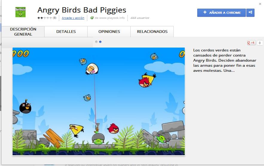 Falsos Bad Piggies Infestan La Google Chrome Web Store Poderpda