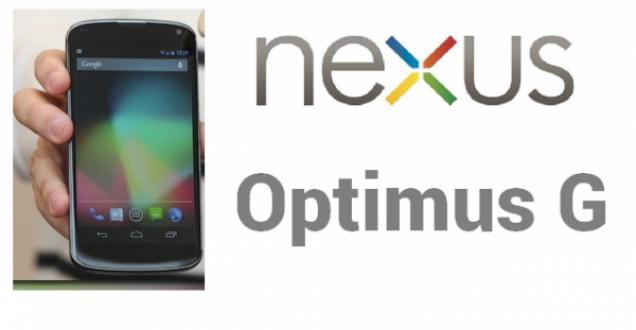 nexus optimus lg g