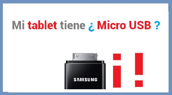 tablet micro usb