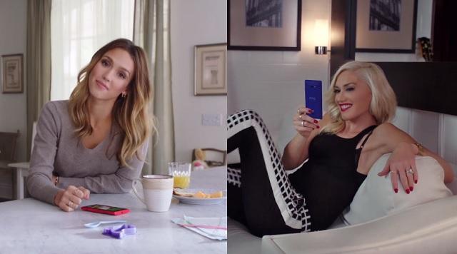 Jessica-Alba-y-Gwen-Stefani-promocionan-a-Windows-Phone