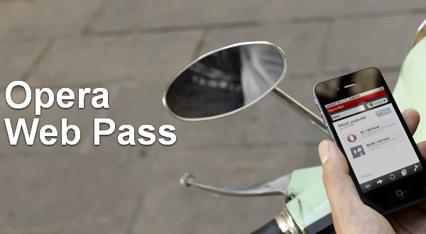 Opera business solutions  Opera Web Pass