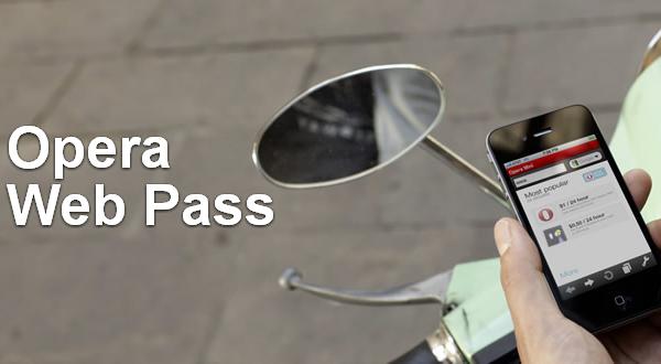 Opera business solutions  Opera Web Pass