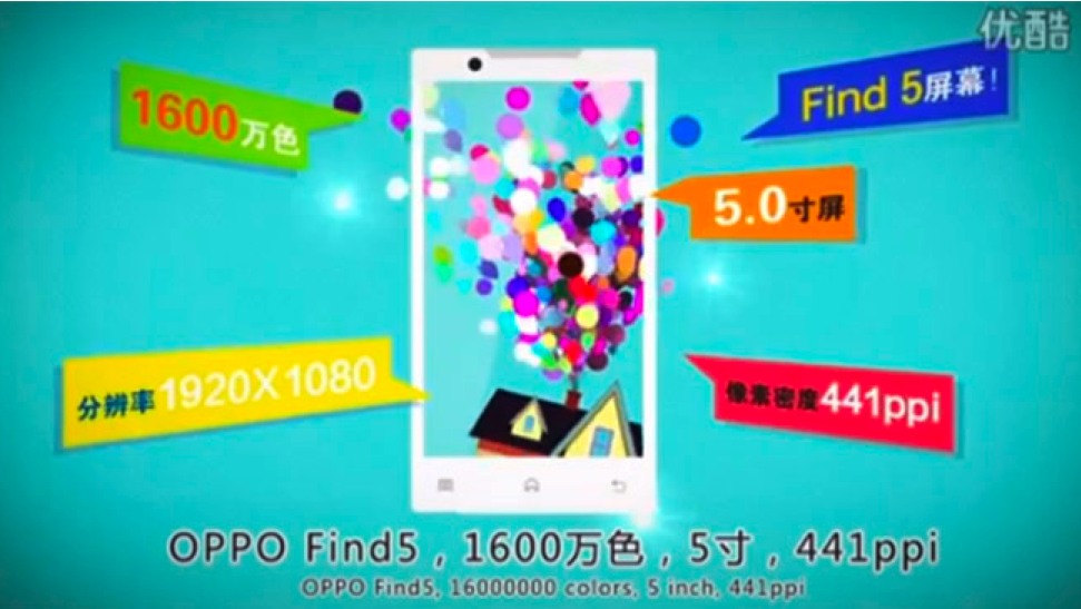 Oppo find 5 ad