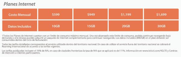 Paquetes-Adicionales-LTE-Telcel