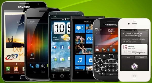 Smartphones vendidos 2012