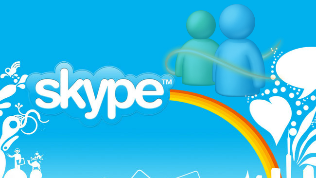 skype-Windows Live Messenger
