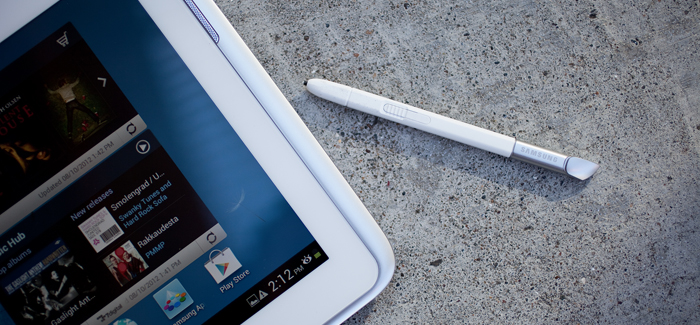 Galaxy Note 10.1. Photo: Ariel Zambelich/Wired