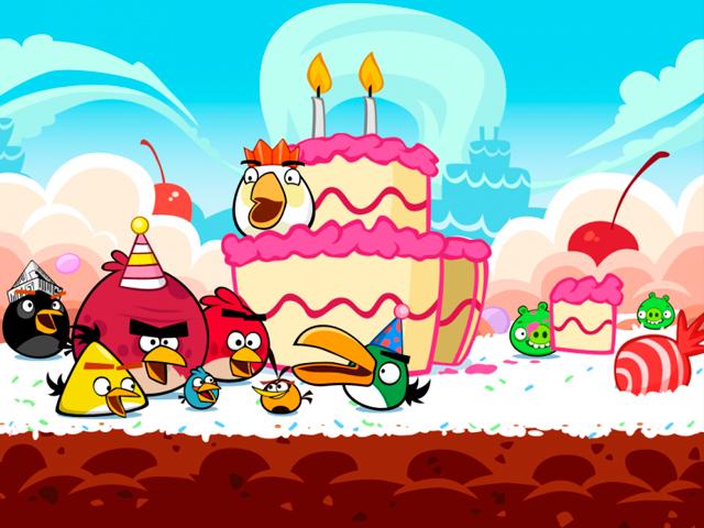 Angry Birds cumple 3 años