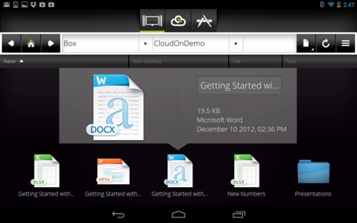 CloudOn Demo