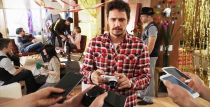 Galaxy Camera y James Franco