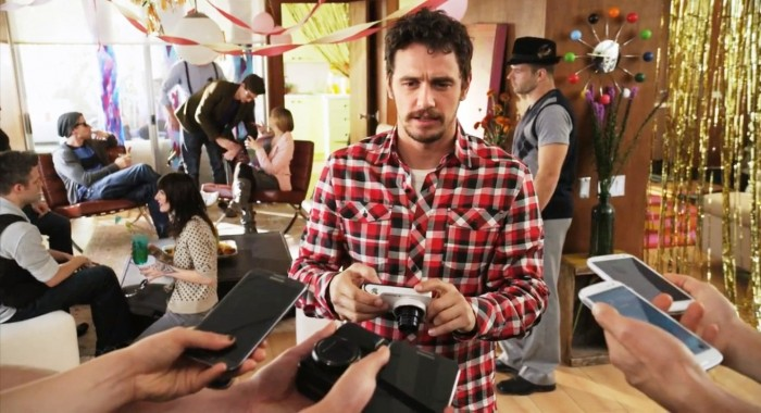 Galaxy Camera y James Franco
