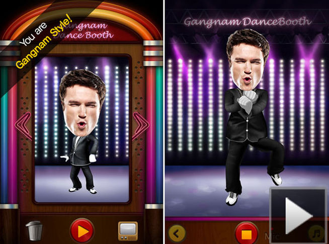 Gangnam Dance Booth
