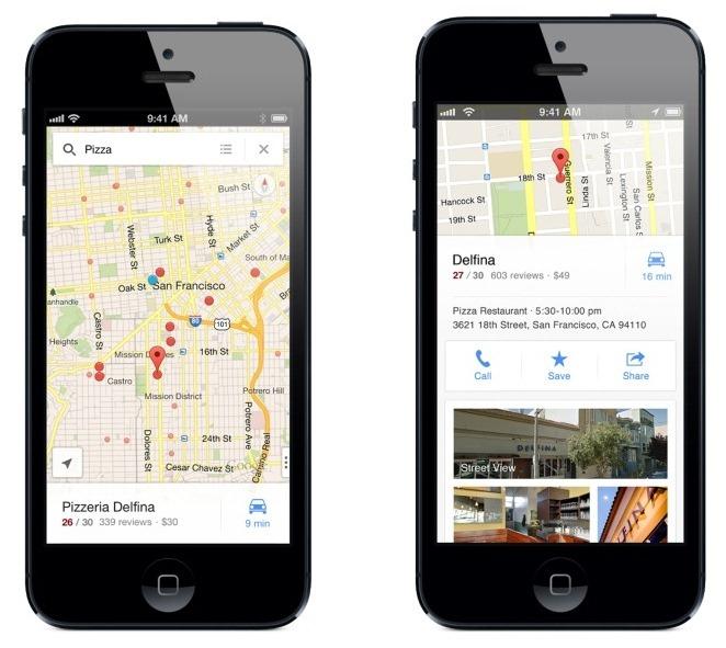 Google Maps iOS 12