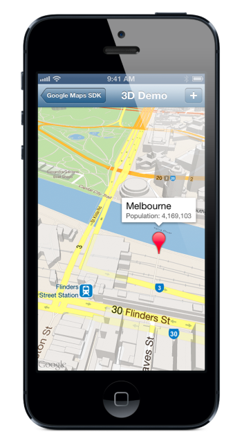 Google Maps iOS 7