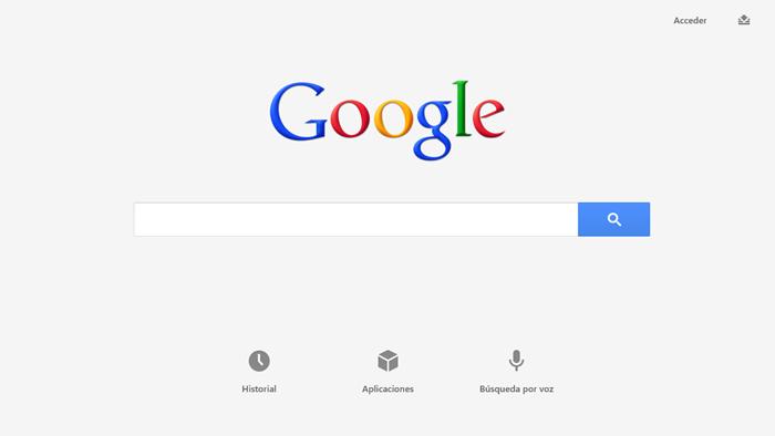 Google Windows 8 App