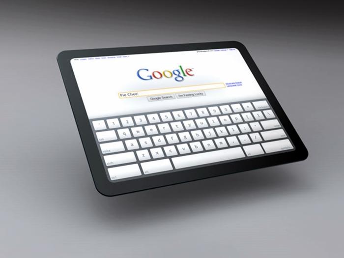 Google on Tablets