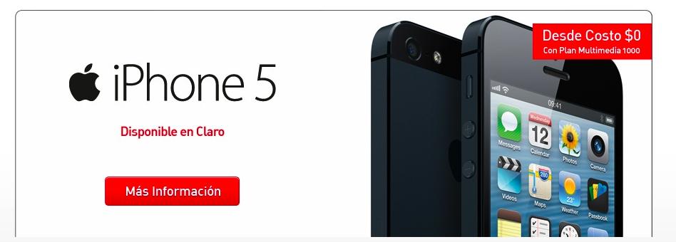 Iiphone5-Claro-Chile