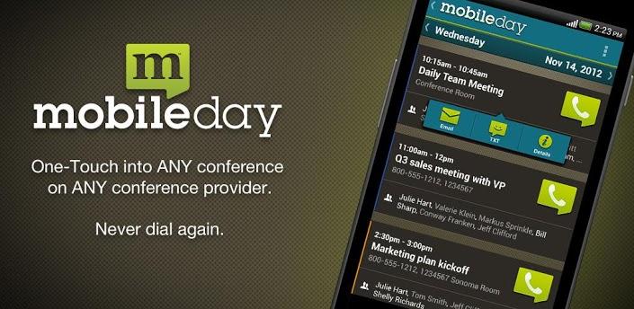 MobileDay app