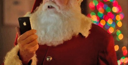 Santa iPhone
