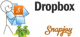 dropbox adquires snapjoy