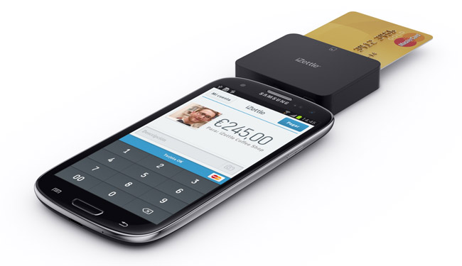 iZettle Payment System Comes to Android