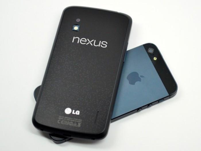 iphone  vs nexus 4 1 principal