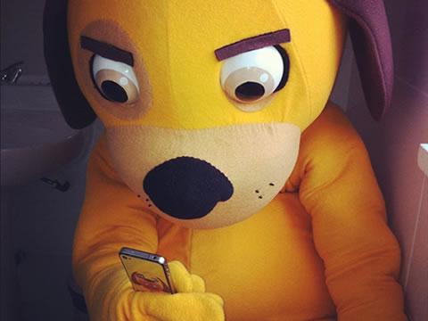 smartphone perro