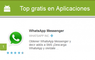 top app google play 2012 1