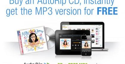 Amazon AutoRip, MP3 Gratis de tus CD Comprados