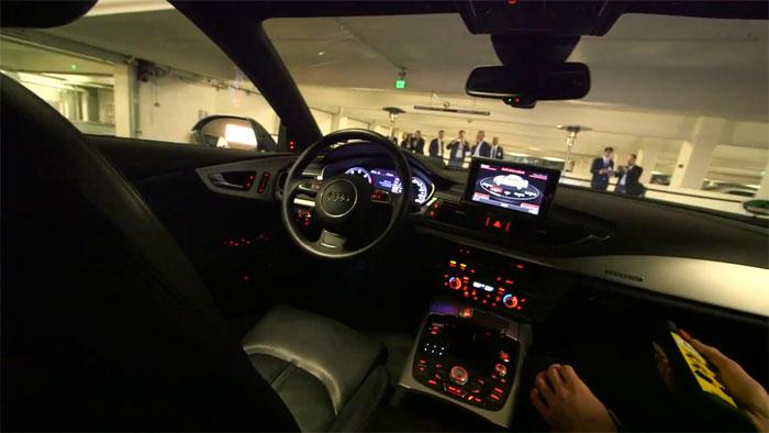 Automóvil de Audi con Conducción Autónoma Presentado en el CES 2013