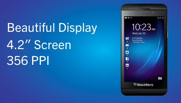 #BlackBerry10 9