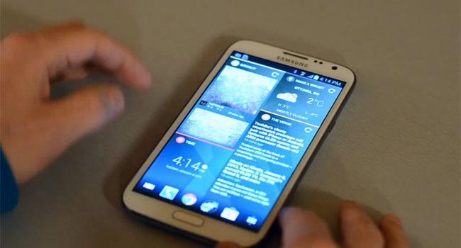 Chameleon Launcher para móviles Android se muestra en vídeo