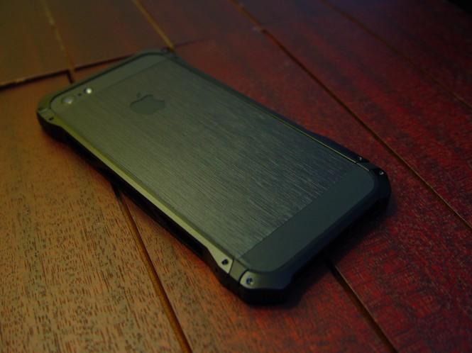ElementCase Sector 5 - iPhone 5 Back Black