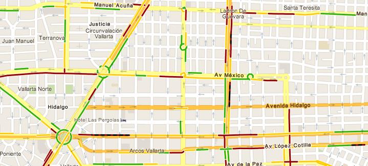 Google Maps Guadalajara
