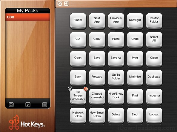 Hotkeys-select