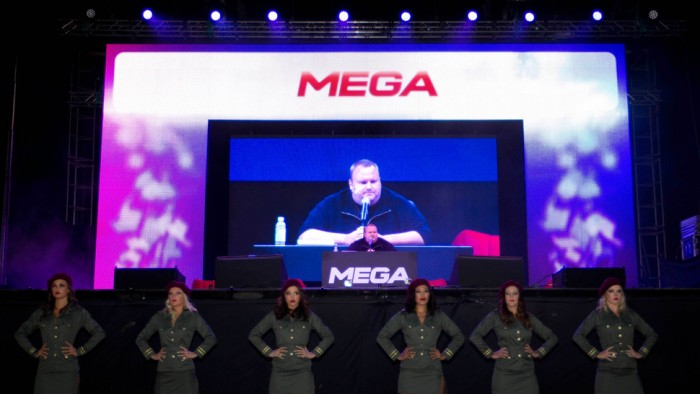 APTOPIX New Zealand Kim Dotcom