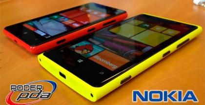 Nokia Lumia 920 y Nokia Lumia 820 Llegarán Pronto a México