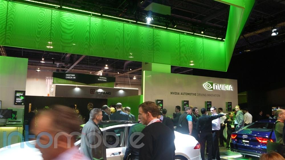 Nvidia Booth 1