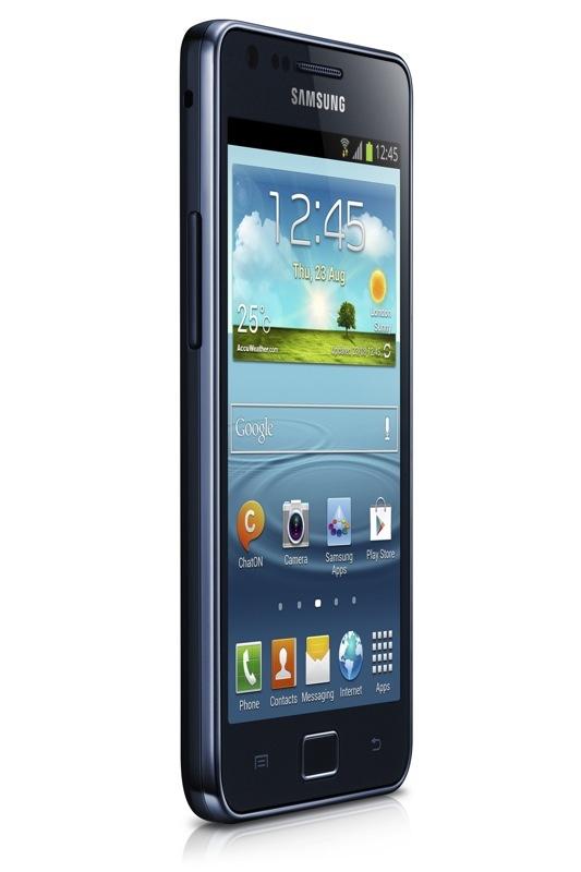 Imagen de Ángulo del Samsung Galaxy S II Plus Negro