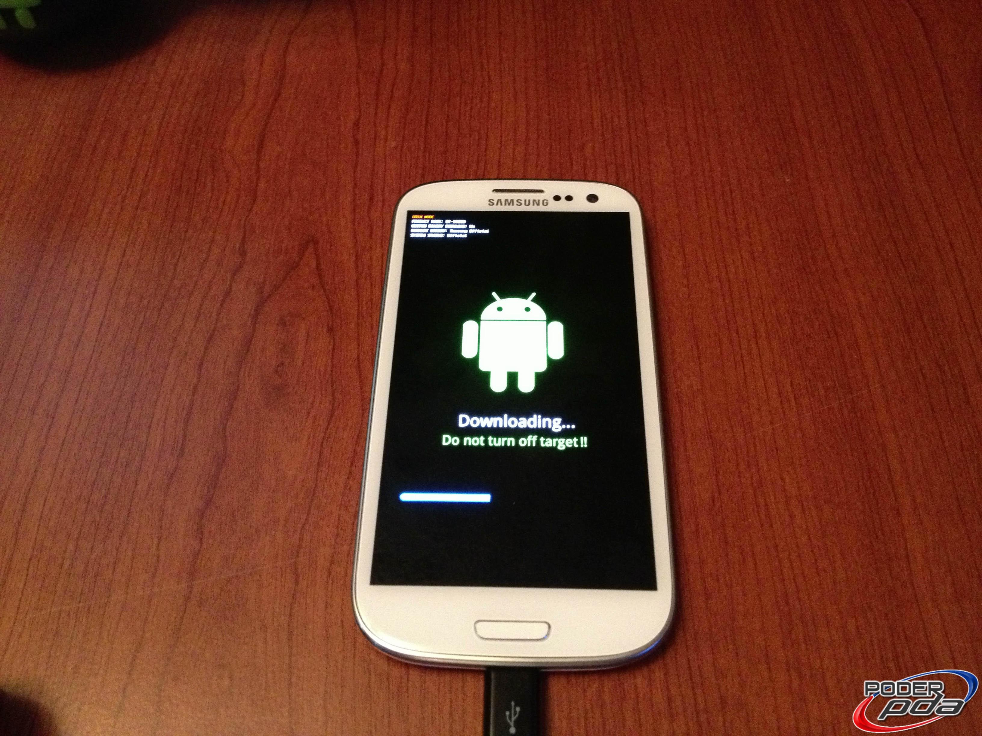 Flasheando ROM en Samsung Galaxy S3