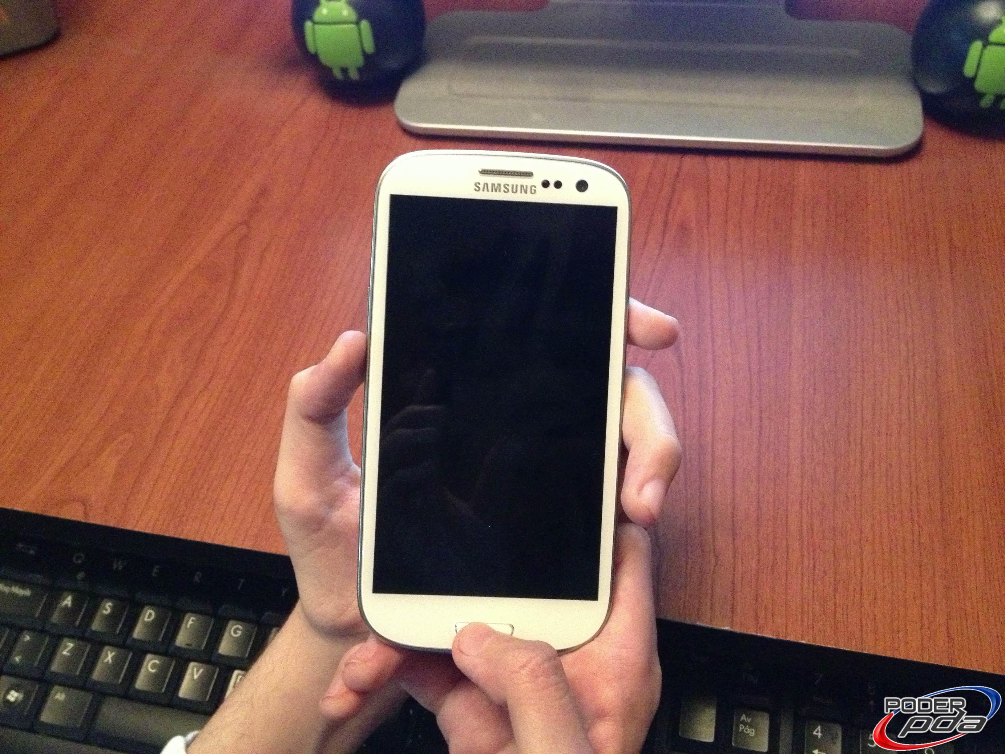 Poniendo Samsung Galaxy S3 en Download Mode