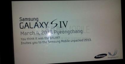 Samsung Invitación Galaxy S IV