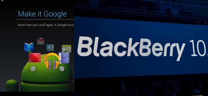 blackberry 10 vs android
