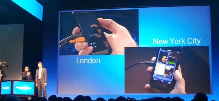 blackberry 10 vs android mensajeria