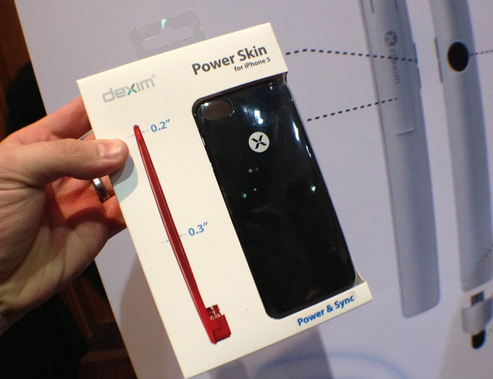 Case con Batería para iPhone 5 Dexim XPowerSkin
